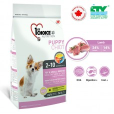 1ST CHOICE PUPPY HEALTHY SKIN & COAT TOY & SMALL BREEDS 2.72KG