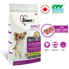 1ST CHOICE ADULT DOG HEALTHY SKIN & COAT TOY & SMALL BREEDS 2.72KG