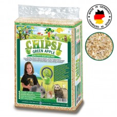 CHIPSI GREEN APPLE SMALL ANIMALS BEDDING 3.2KG