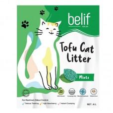 BELIF TOFU CAT LITTER 2.8KG - MINT
