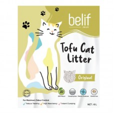 BELIF TOFU CAT LITTER 2.8KG - ORIGINAL