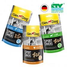 GIMDOG SPORTSNACKS MINI BONES WITH POULTRY 60G