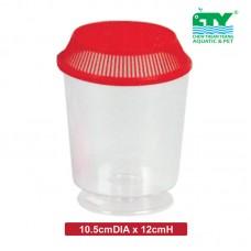 GUPPY PLASTIC WINE CUP - 700ML