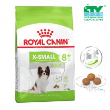 ROYAL CANIN ADULT 8+YEARS X-SMALL 1.5KG